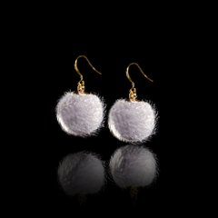 "Earrings from the collection ""Crystal Symphony"""