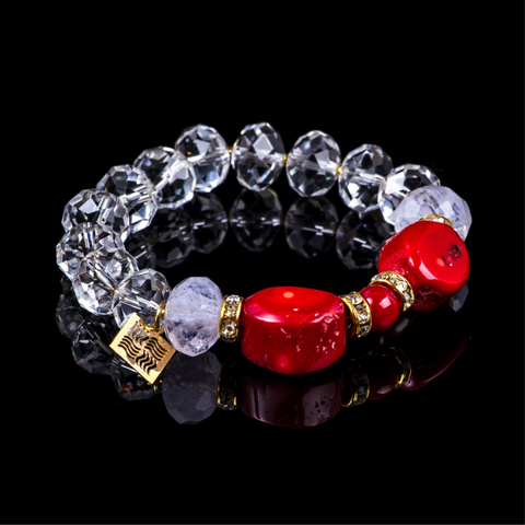 "Bracelet of collection ""Crystal Symphony"""